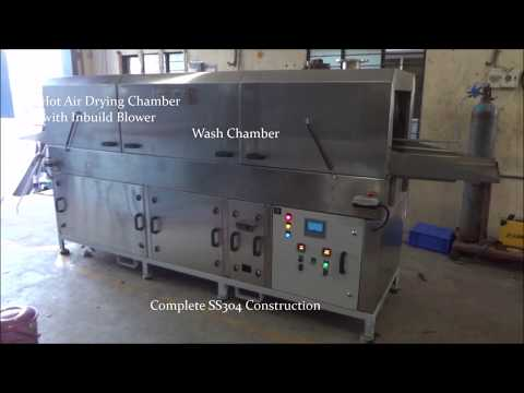 Tray Cleaning Machine