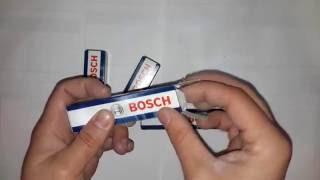 Свеча зажигания (пр-во BOSCH) от компании Avtokray - видео