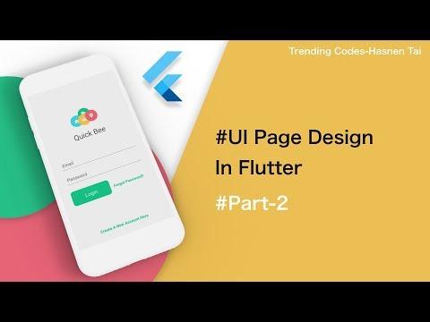Clean Login UI with Hero Animation in Flutter - смотреть онлайн на