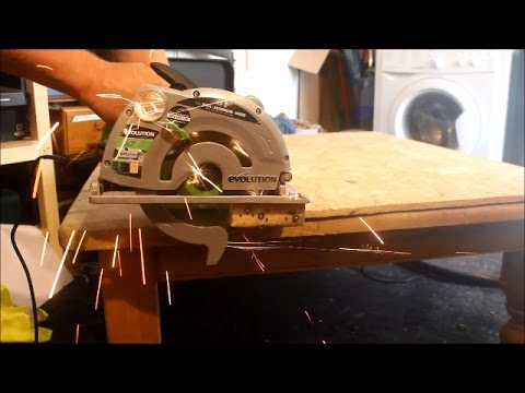 JP's Workshop – Review of the Evolution Fury 1B Circular Saw Part 1