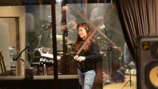 Jo Dee Messina In The Recording Studio