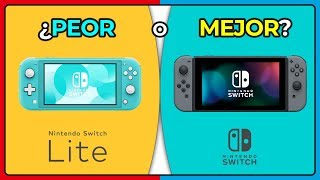 ¡Switch LITE VS Nintendo SWITCH! - ¡NUEVO Procesador! SIN DOCK ¿Sucesora De 3ds?