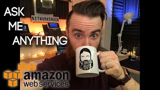 Should I start Learning AWS?? - NetworkChuck AMA - Ask Me Anything