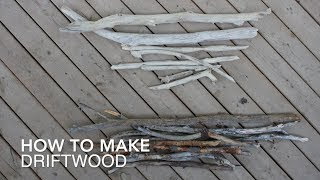 DIY Macrame Tutorial - How To Make Your Own Driftwood!