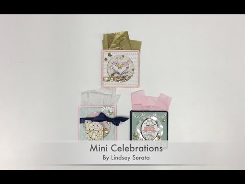 Mini Celebrations Project In-Store Workshop