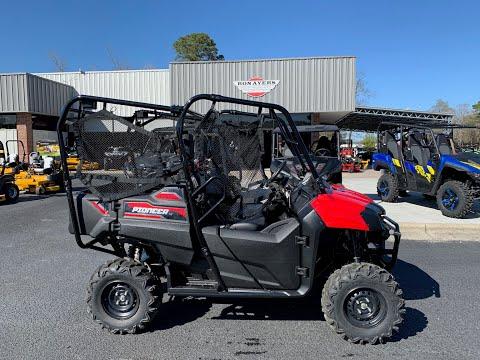 2020 Honda Pioneer 700-4 in Greenville, North Carolina - Video 1