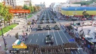 Журналисты проследили, как эволюционировали военные парады в Украине