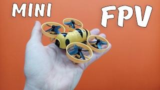 Летаем дома по FPV ... Квадрокоптер Eachine Fatbee FB90