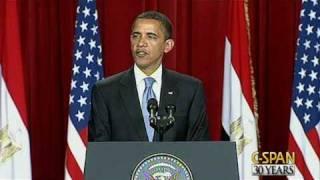 President Obama Speech to Muslim World in Cairo