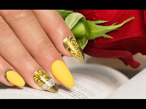 Beauty and the Beast Nail Art – Nails 21