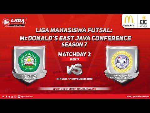 Men's UNISMA vs UNAIR LIMA Futsal: McDonald's EJC Season 7