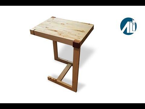 Beistelltisch aus Holz zum nachbauen