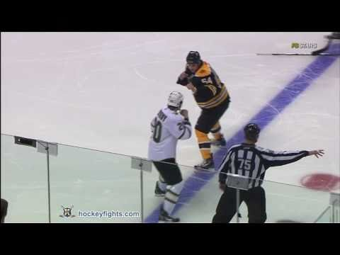 Adam McQuaid vs. Brian Sutherby