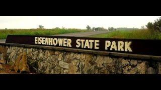 Eisenhower State Park Texas OHV ATV trail