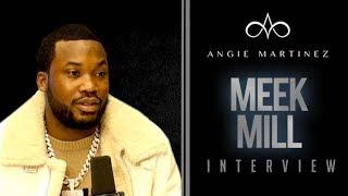 The Angie Martinez Show - Meek Mill On Jay-Z/Beyonce Double Date, Reconciling w/ Drake + Kim Kardashian WH Visit