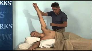 Patrick Ingrassia Side Lying BodySaver Massage, Working Exclusively on the Shoulder Girdle