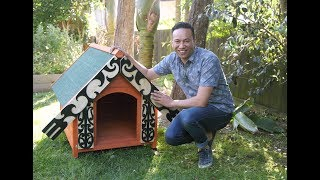 Youtube thumbnail for How to decorate your dog kennel