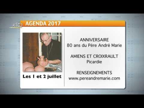 Agenda du 16 juin 2017