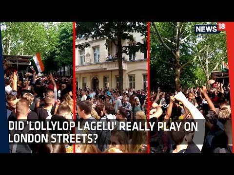 Is this Viral Video of Foreigners Dancing to 'Lollypop Lagelu', Actually From London?