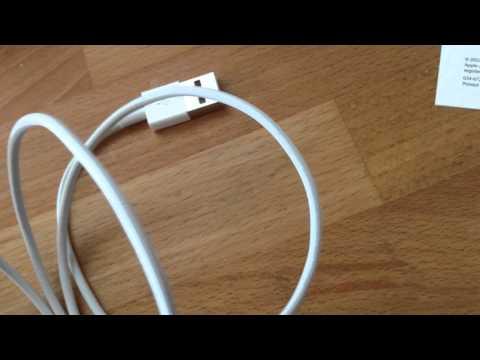 Langes Video: Apple Lightnin Kabel Fake oder Original?