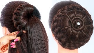 8 Easy Juda Hairstyles For Gown, Lehenga, & Saree || New Hairstyle For Girls || Trending Hairstyles