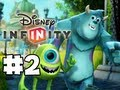 Disney Infinity - Gameplay Walkthrough - Monsters U Playset - Part 2 - Toilet Paper Launchers (HD)