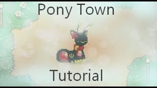 Pony Town Faces Tutorial! || Read Disc