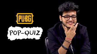 Viper takes the PUBG Mobile Pop Quiz