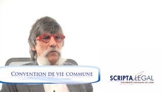 La convention de vie commune