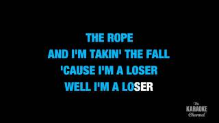 "Loser in the Style of ""3 Doors Down"" karaoke video with lyrics (with lead vocal)"