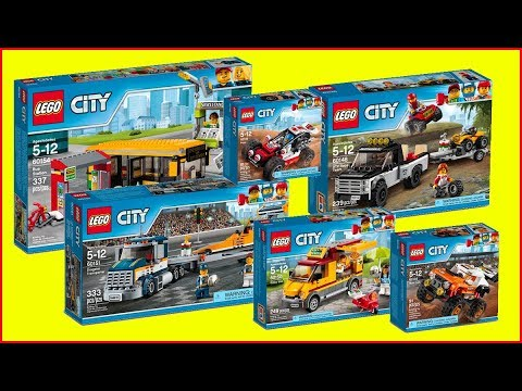 COMPILATION LEGO City Traffic 2017   Construction Toy   Speed Build
