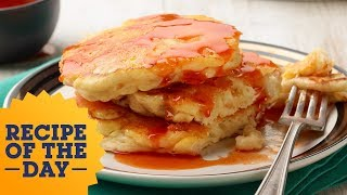 Recipe of the Day: Macaroni and Cheese Pancakes | Food Network