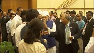 preview picture of video 'PM Modi at the Indian Community Reception in Myanmar'