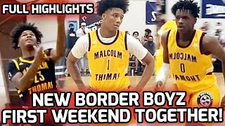 Mikey Williams & New San Ysidro SUPERTEAM Play Their First GAMES Together! Full Pangos Highlights 🔥