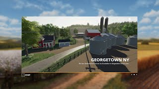FS19 Georgetown NY 4x Map Fly Thru