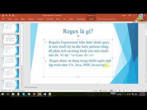 VD08 - Regular Expression(Bieu thuc chinh quy) - Part 1