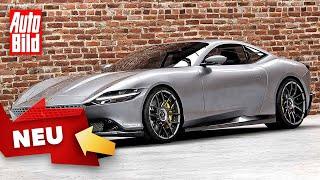 [AUTO BILD] Ferrari Roma (2020): Test - Neuvorstellung - Sportwagen