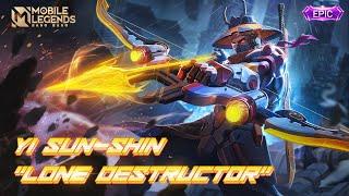 YI SUN-SHIN New EPIC Skin    Lone Destructor   Mobile Legends: Bang Bang