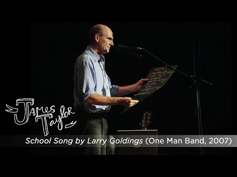 James Taylor / Larry Goldings – School Song (One Man Band, July 2007)