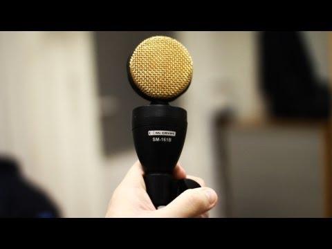 Das beste Mikrofon der Welt ? MC Crypt SM161b