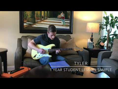Guitar Student Lesson Sample.