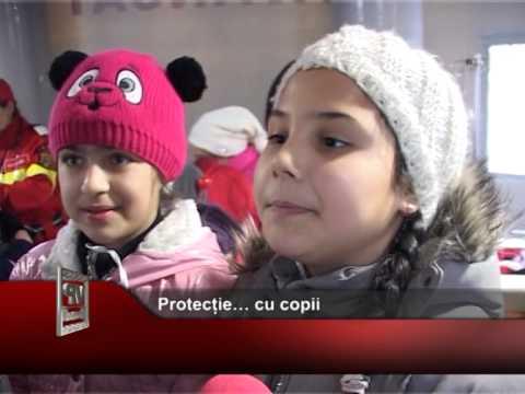 Protecție… cu copii