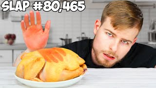 Does Slapping A Chicken 100,000 Times Cook It?