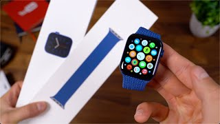 Apple Watch Series 6 Unboxing: Solo Loop Fitting!