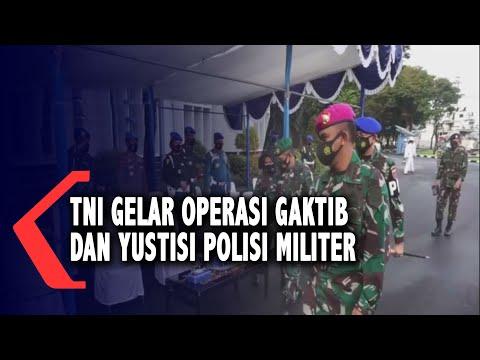 TNI AL Gelar Operasi Gaktib Dan Yustisi Polisi Militer