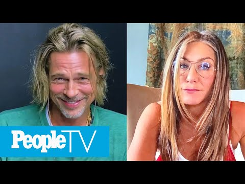 Brad Pitt & Jennifer Aniston Reunite For 'Fast Times At Ridgemont High' Read   PeopleTV