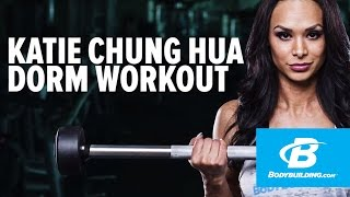 Upper-Body Dorm Room Workout | Katie Chung Hua by Bodybuilding.com