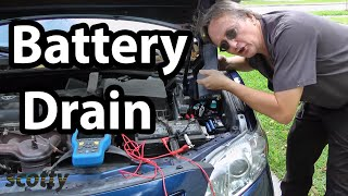 Fixing Battery Drain In Your Car