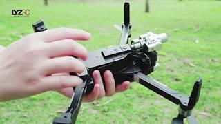 LYZRC L109 Pro 2-Axis Gimba 4K Ultra HD Professional Camera GPS 5G WIFI FPV RC Drone Operation Video