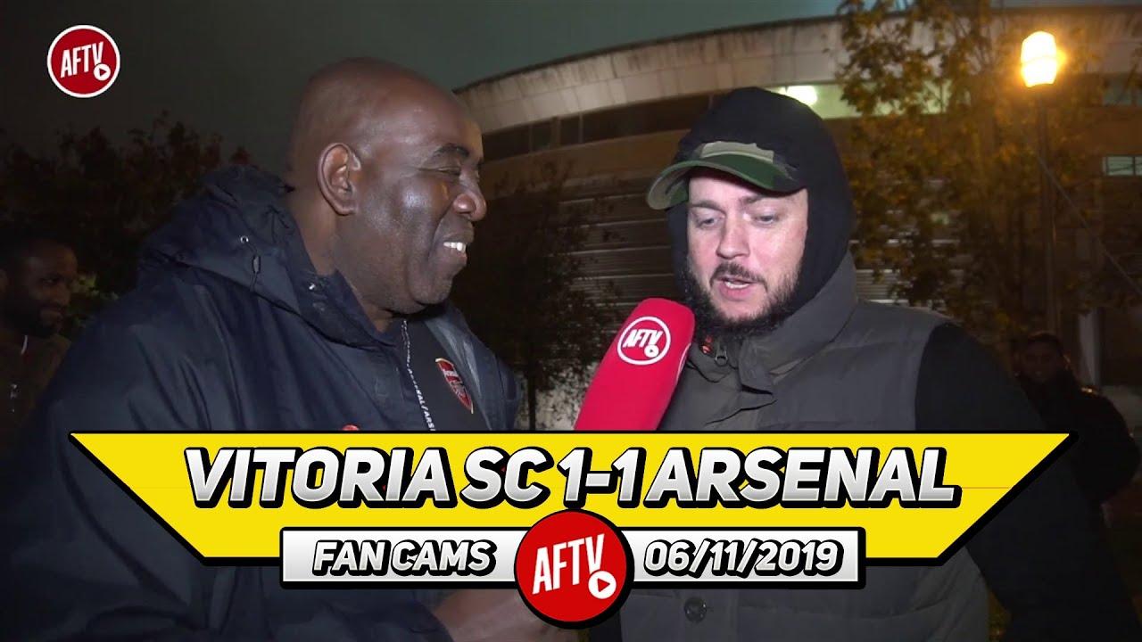 Vitoria SC 1-1 Arsenal | I'd Rather Take Wenger Back Than Get Mourinho! (DT) Screenshot Download
